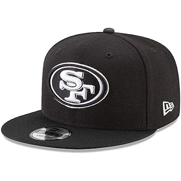 New Era San Francisco 49ers T Shirt Stacked Logo Tee Black XL