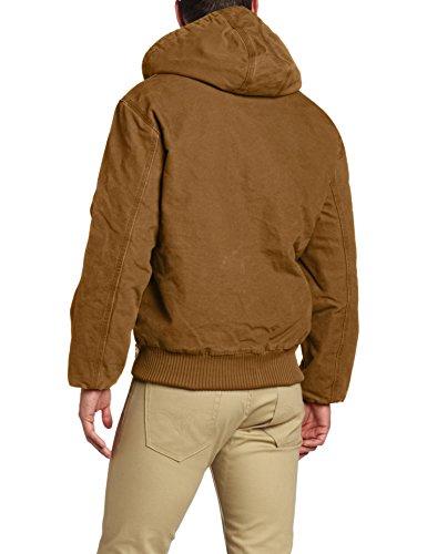 Matelassée Grise J130 Brown Carhartt Jacket Homme Doublée Active sandstone Pour En Veste Flanelle xRAqvnaA