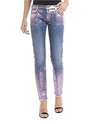 Faith Connexion Women S W5501d00w18650 Blue Cotton Jeans