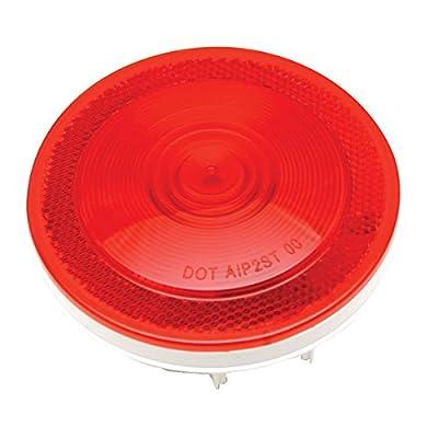 """Kaper II 1T-L45R Red 4"""" Stop/Turn/Tail Light: Automotive"""