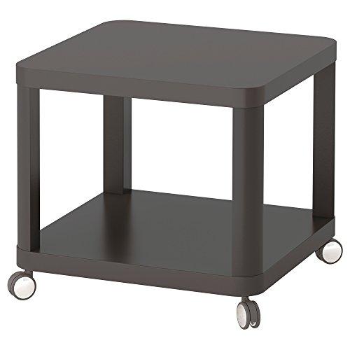 ZigZag Trading Ltd IKEA tingby–Mesa Auxiliar Sobre Ruedas, Color Gris