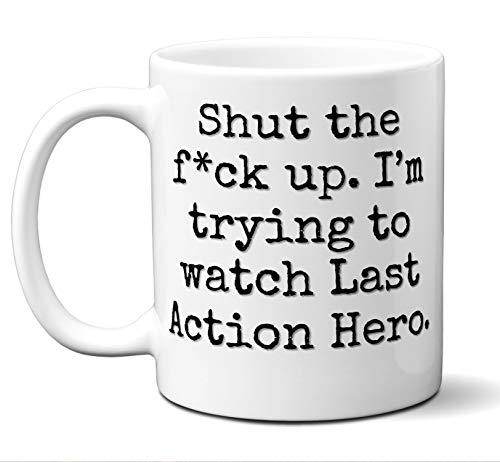Last Action Hero Gift Mug. Funny Parody Movie Lover Fan
