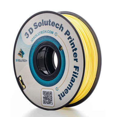 3D Solutech Banana Yellow 3D Printer PLA Filament 1.75MM, Dimensional Accuracy +/- 0.03 mm, 2.2 LBS (1.0KG) ()