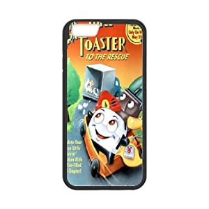 iPhone6s Plus 5.5 inch Phone Case Black Brave Little Toaster ZHC2688167