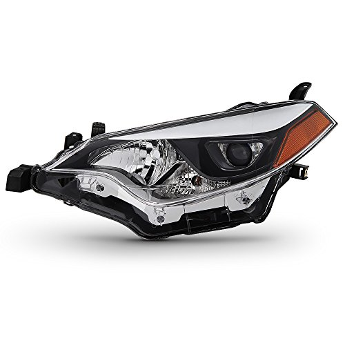ACANII - For 2014-2016 Toyota Corolla Built in LED Replacement Headlight Headlamp - Driver Side Only