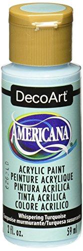 DecoArt Americana Acrylic Whispering Turquoise