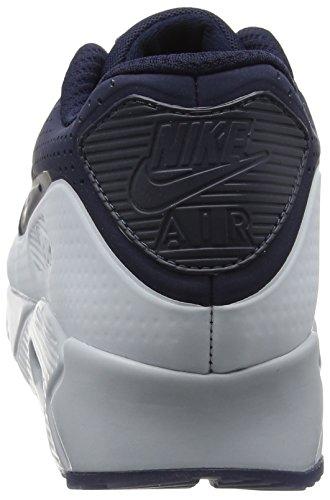 Nike Herren Air Max 90 Ultra Moire Laufschuhe Blau (Obsidian/Obsidian/Pure Platinum)