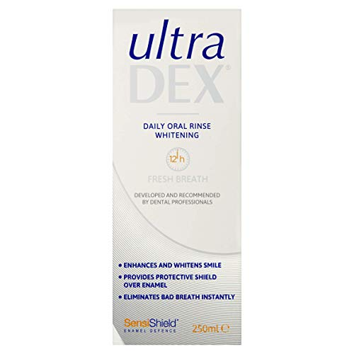 UltraDEX Sensitive Daily Oral Rinse Whitening 250ml
