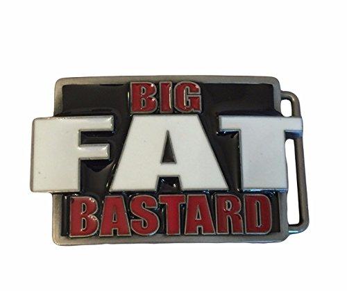 Austin Powers International Man of Mystery BFB Metal Enamel Belt Buckle ()