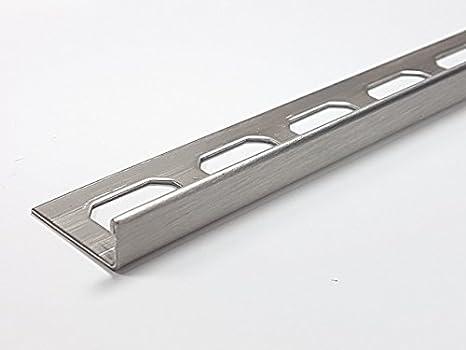 10 pcs=lfdm 12,5. Barra de acero inoxidable V2A forma-L 12,5 ...