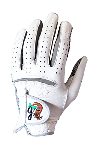 Grip it Girl Women s Genuine Cabretta Leather Golf Glove with a Unique Stable Grip Left Hand Women s Sizes Women s Golf Brand