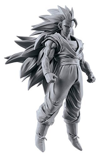 Dragon Ball Super SCulture Big Sculptures Budoukai 6 Volume 5 Super Saiyan 3 Goku Figure Original No Coloring ver.