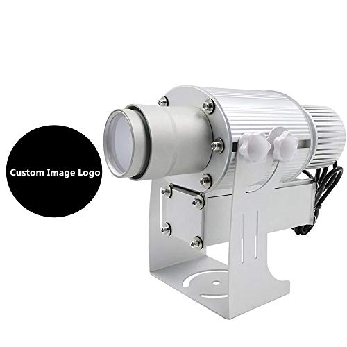 50W LED Custom Image Logo Projector Light with Static Function Manual Zoom&Focus Customized for Indoor Use Company Hotel Restaurant Advertising -
