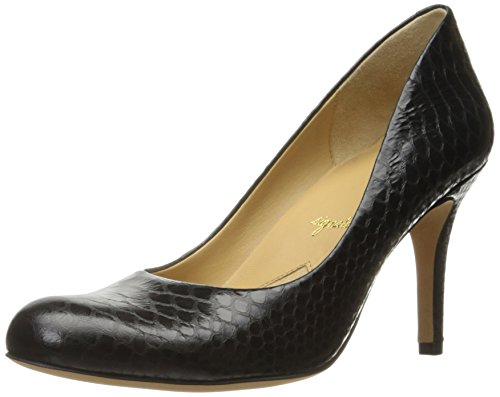 US Black 6 Pump Snake Gigi Trotters Women's Glazed Dress Black N w1qxI8nvY