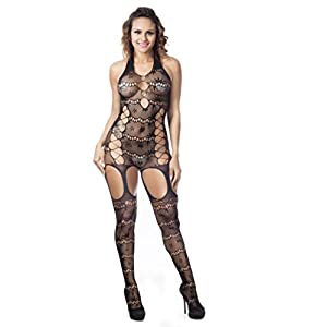 Emubody Sexy Womens Lingerie Babydoll Dress Underwear Sleepwear Chemise Dress