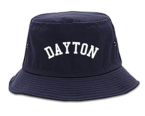 Dayton Ohio Bucket Hat Navy Blue