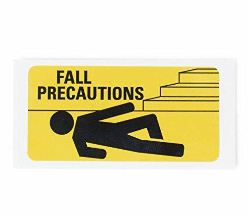 Medline DYK100FPLBL Fall Precaution Labels, 3