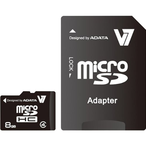 8GB microSD Class 4 Memory Card With Adapter Electronics & computer accessories