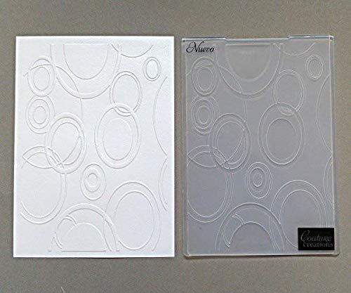 - Large Bubbles - Embossing Pocket, Couture Creations, Pockets Separate, Big Shot Embossing, Scrapbooking Paper