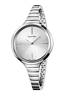 amazon calvin klein women s lively watch k4u23126 silver one Specialty Watches wrist watches