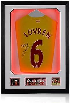 Dejan Lovren – Marco de Lujo, Luces LED Surround – Camiseta ...