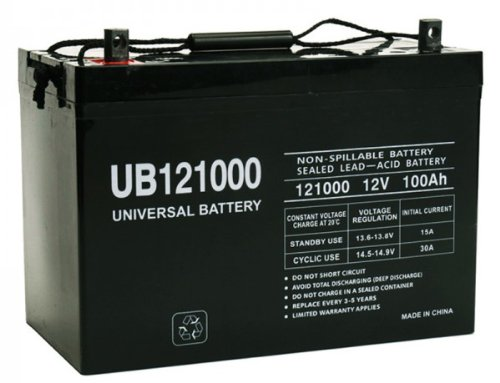 12V 100AH SLA0079 SLA0090 SLA1185 SLA1187 SLA1188 AGM Battery by Universal Power Group