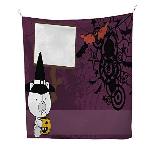25 Home Decor Tye dye Tapestries Baby Polar Bear Demon Costume Cartoon Halloween Background Greatful Dead Tapestries 70W x 84L INCH ()