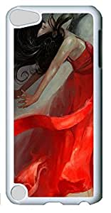 Fashion Customized Case for iPod Touch 5 Generation White Cool Plastic Case Back Cover for iPod Touch 5th with Ascension