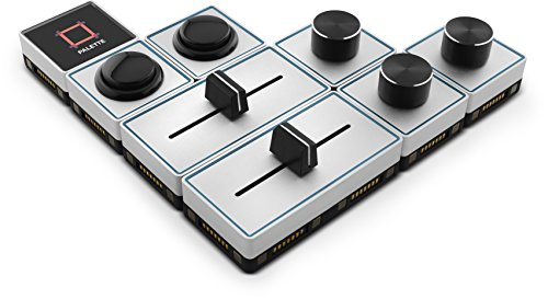 Palette Expert Kit Customizable Controller for Photo and Video Editing. Palette Expert Kit Includes 1x Core Module, 3x Dial Modules, 2x Slider Modules, 2x Button Modules by Palette Gear