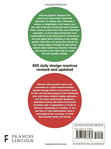 Graphic Design Rules 365 Essential Design Dos And Don Ts Dawson Peter Foster John Seddon Tony Adams Sean Bucher Stefan G 9780711233461 Amazon Com Books