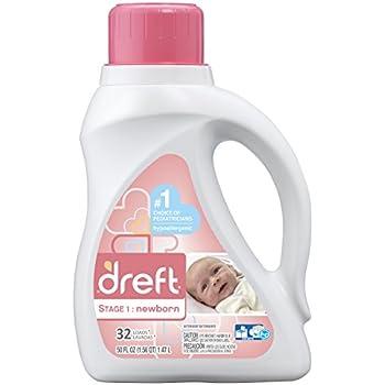 Amazon Com Dreft Stage 1 Newborn Liquid Laundry