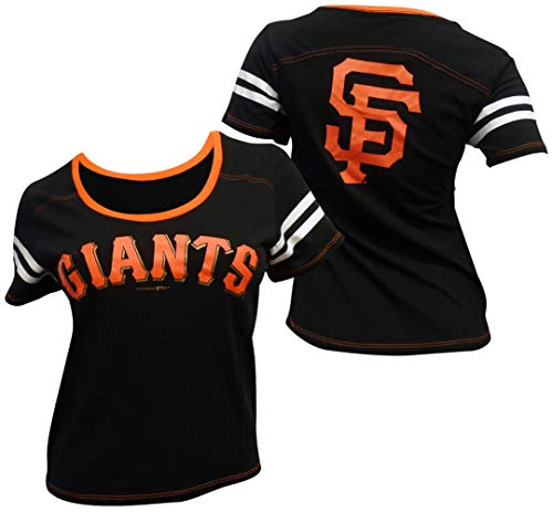 5th & Ocean San Francisco Giants Women's Baby Jersey S/S Scoop Neck Medium (5th And Ocean Womens Shirt)