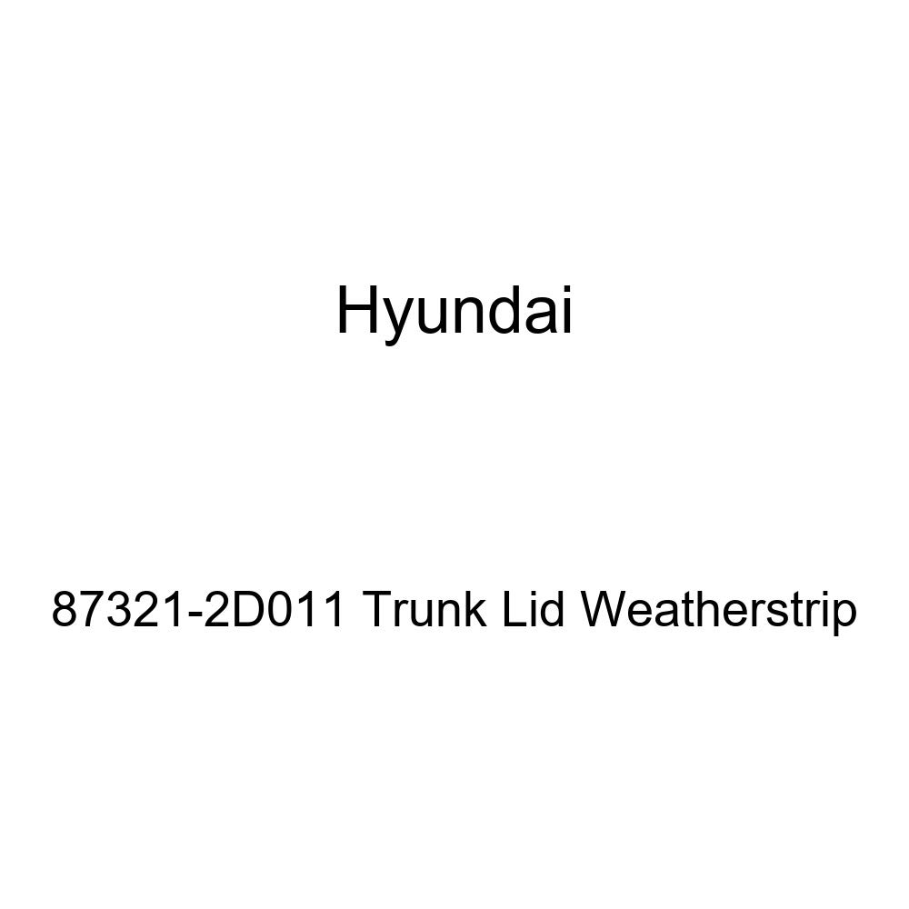 Genuine Hyundai 87321-2D011 Trunk Lid Weatherstrip