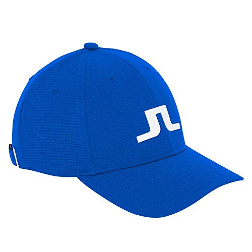 J.Lindeberg Caden Tech Mesh 86MG Golf Cap 2018 Daz Blue One Size Fits All