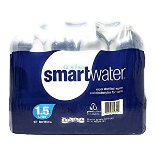 GLACEAU Smart Water 12 Pack, 1.5 LT