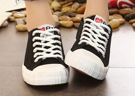 Shoes White Sewing Fabric Woman Fshion Solid Women Canvas Sneakers Shoes XINGMU Spring Adult ZwECqx7