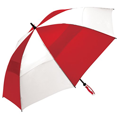 shedrain-3289-redwhite-windjammer-vented-manual-golf-umbrella-62-inch-arc