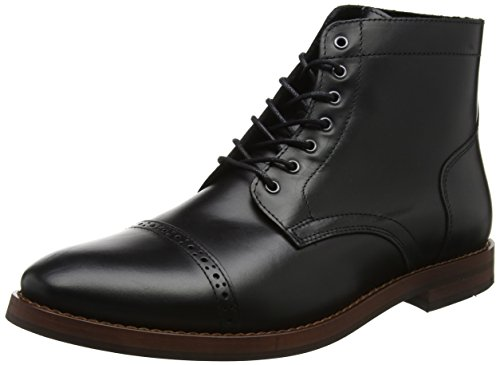 Compound Black Stivali Leather Uomo Nero Bertie 8PpOwqa8