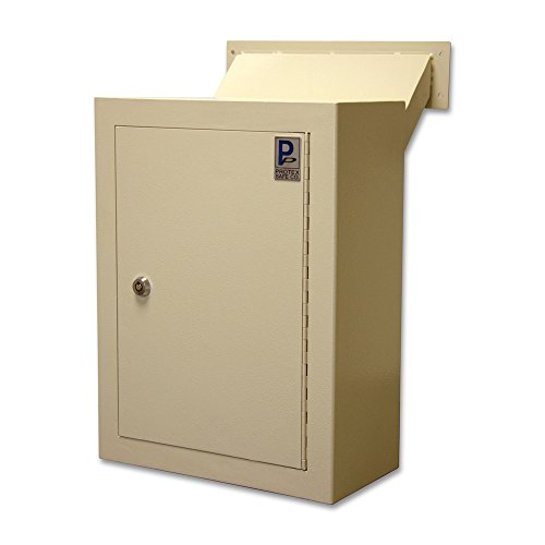 Protex Wall Drop Box with Adjustable Chute (MDL-170) (Protex Wall Safe)