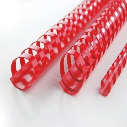A9665928 GBC Spirali color coil 12mm 100pz Nero