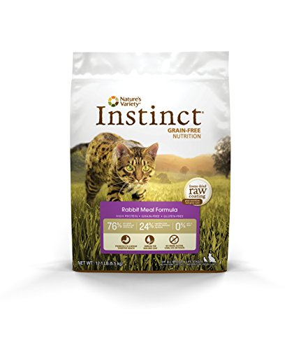 Instinct Grain Free Rabbit Meal Dry Dog Food By Nature