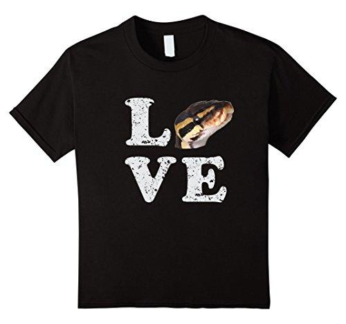 Kids I Love my Ball Python T-shirt   Pet Snake Lovers Gift 12 ()