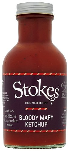Stokes Bloody Mary Ketchup with Chase Vodka, 300g: Amazon.es: Alimentación y bebidas