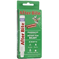 After Bite Advanced Formula With Baking Soda & Ammonia, Pharmacist Preferred Insect Bite & Sting Treatment, Skin Protectant, Portable Instant Relief, Stop Itching Applicator Pen, 0.5-ounce (4 pack)