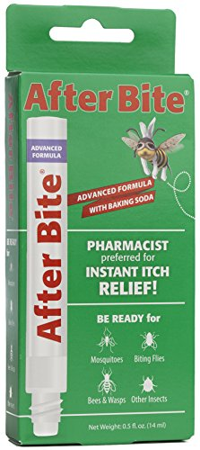 After Bite Advanced Formula With Baking Soda & Ammonia, Pharmacist Preferred Insect Bite & Sting Treatment, Skin Protectant, Portable Instant Relief, Stop Itching Applicator Pen, 0.5-ounce (4 pack) (Best Treatment For Bee Sting Itching)