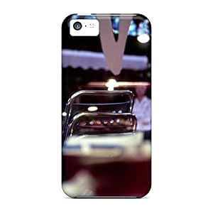 Diy iphone 5 5s case ENJOYCASE Case Cover Skin For iPhone 5 5S (the City)