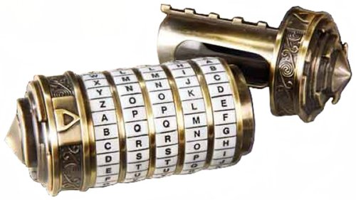 The Da Vinci Code Mini Cryptex by The Noble Collection