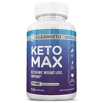 Best Keto Max Shark Tank Pills - Appetite Suppressant for Women & Men - BHB Weight Loss Pills - Reach Ketosis Fast - 60 Caps