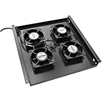 V7 RM4FANTRAY-1N Rack Mount Tray with 4 Fans