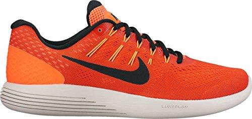 Nike Mens Lunarglide 8, Max Oranje / Zwart-hyper Oranje Max Oranje / Zwart-hyper Oranje